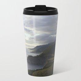 Pastel Skies Over Big Sur Travel Mug