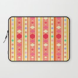 Happy Tribal Pattern Laptop Sleeve