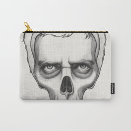 Gregory House Skull House MD Art Carry-All Pouch