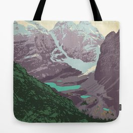 Yoho National Park Poster Tote Bag