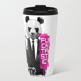 Angry Panda Travel Mug