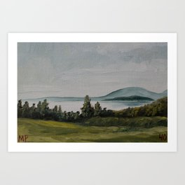 New Brunswick 40/100 Art Print