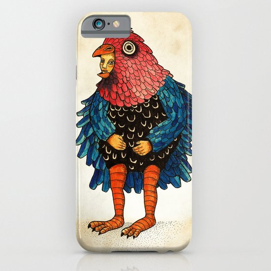 El pájaro iPhone & iPod Case