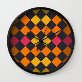 Tequila sunrise Wall Clock