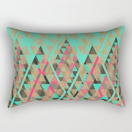 Tribal VII Rectangular Pillow