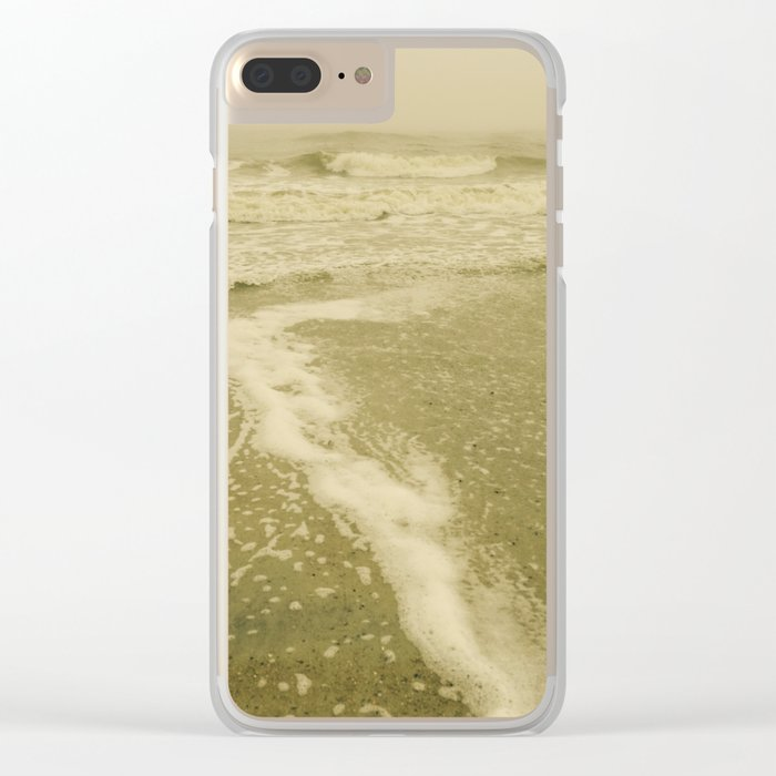 Ocean Waves Clear iPhone Case