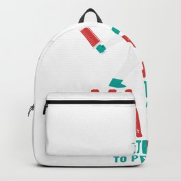 Funny Vaccine With The Power To Prevent Illness Gift Backpack
