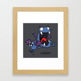 Pokémon - Number 41 & 42 Framed Art Print