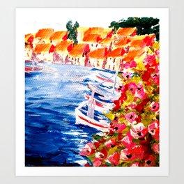 Cassis, France Art Print