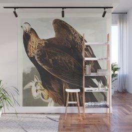 John James Audubon -  Golden Eagle from Birds of America Wall Mural