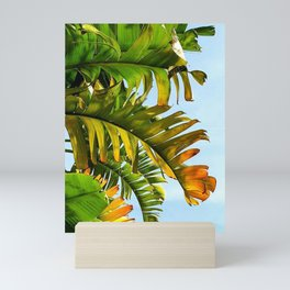Autumn Palms Mini Art Print