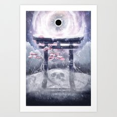 The Silver Leaves Art Print