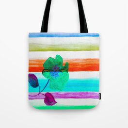 Direction of the flowers Tote Bag