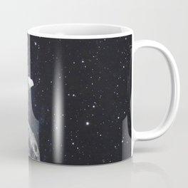 Ballerina on the moon. Coffee Mug