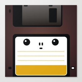 Diskette Canvas Print