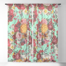 EXOTIC GARDEN XV Sheer Curtain