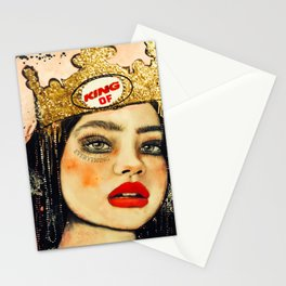 King of everything Stationery Cards