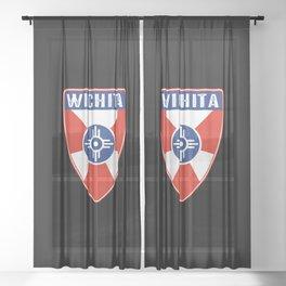 Wichita Kansas Shield Sheer Curtain