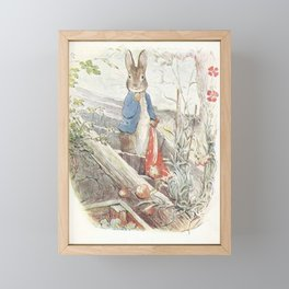 Peter Rabbit Framed Mini Art Print