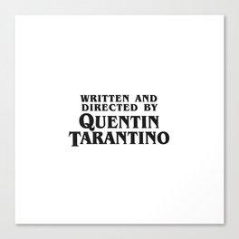Quentin Canvas Print