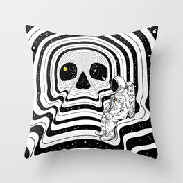 Blackout (Departure) Throw Pillow