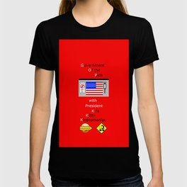 G. O. P. with President Kleptomaniac T-shirt