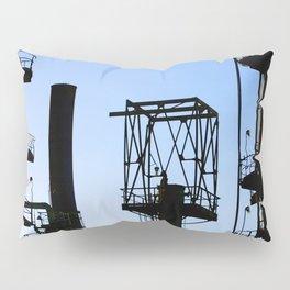Oil Refinery Pillow Sham