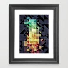 :: geometric maze IV :: Framed Art Print