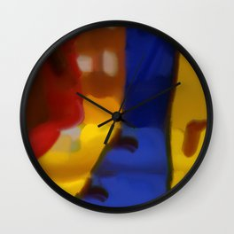 Bin For Discarded Emotional Baggage Wall Clock