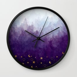 A Sea of Stars Wall Clock
