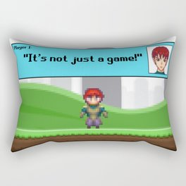 It's not just a Game! [Male Version 1] Rectangular Pillow