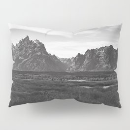 Dark Mountains Pillow Sham