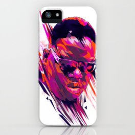The Notorious B.I.G: Dead Rappers Serie iPhone Case