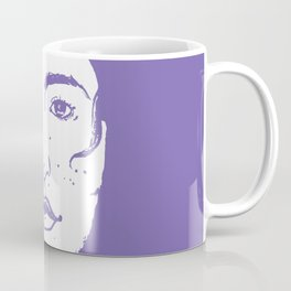 A Freckled Girl in a Bath Coffee Mug