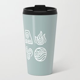 Bending All Four Elements – Water Travel Mug