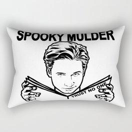 Spooky Mulder Trust no One Rectangular Pillow