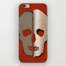 3d skull iPhone & iPod Skin
