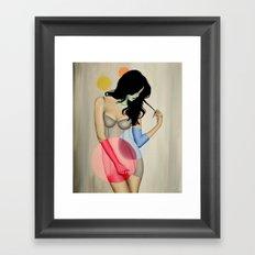 Modern Witch no. 3 Framed Art Print
