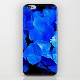 Deep Blue Hydrangea iPhone Skin