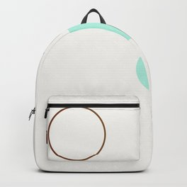 Balm 03 // ABSTRACT GEOMETRY MINIMALIST ILLUSTRATION Backpack