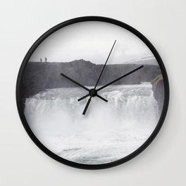 Iceland Landscape 003 Wall Clock