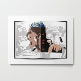 The book vol.1 Metal Print