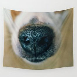 Dog face Wall Tapestry