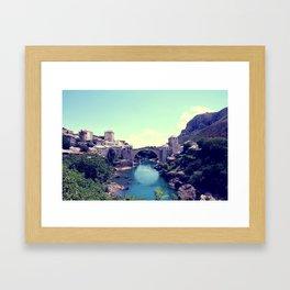 Old Bridge Framed Art Print