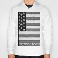 flag Hoodies featuring Flag by Keith Dotson
