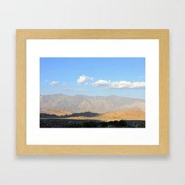 DESERT MIRROR Framed Art Print