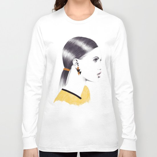 Black And Gold Long Sleeve T-shirt