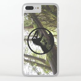 Welcome to Jurassic Park Clear iPhone Case
