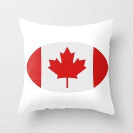 flag canada Throw Pillow