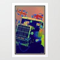 truck Art Prints featuring Truck by elkart51